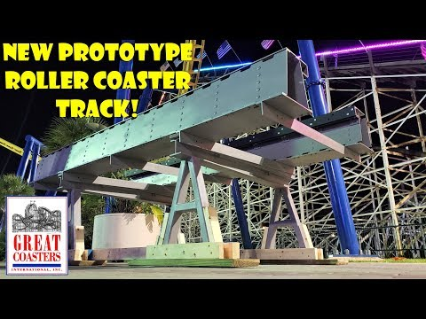 New Prototype Roller Coaster Track - Great Coasters International (GCI) Reveal & Analysis