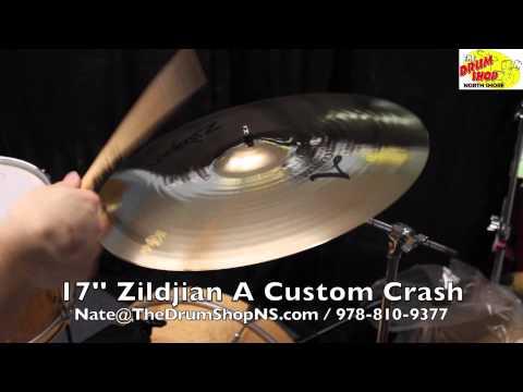 Zildjian A Custom Crash 17'' - The Drum Shop North Shore