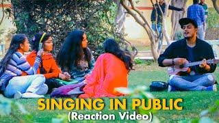 Randomly Singing In Public Prank   Singing Prank In India   Valentine Day Special