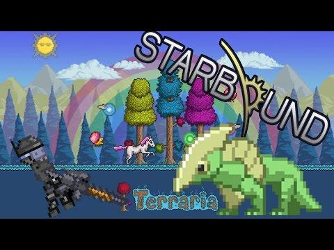 видео: ШОК ! Как играть в Старбаунд прямо в Террарии