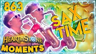 Could This Be The Most EPIC Sax Moment In History? | Hearthstone Daily Moments Ep.863