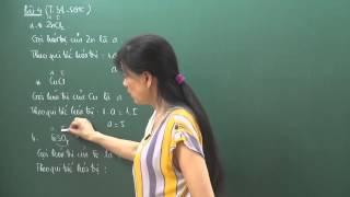 Hóa lớp 8 - Hóa trị (tiết 2) - Cô Hoàng Kim Nhung
