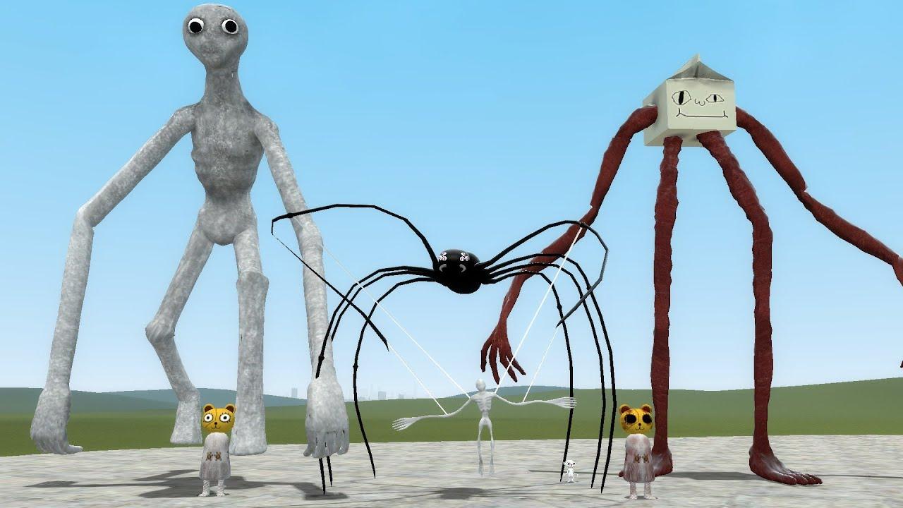 Nuevas Criaturas de Trevor Henderson en Garry's Mod - Suscribers Mod #7