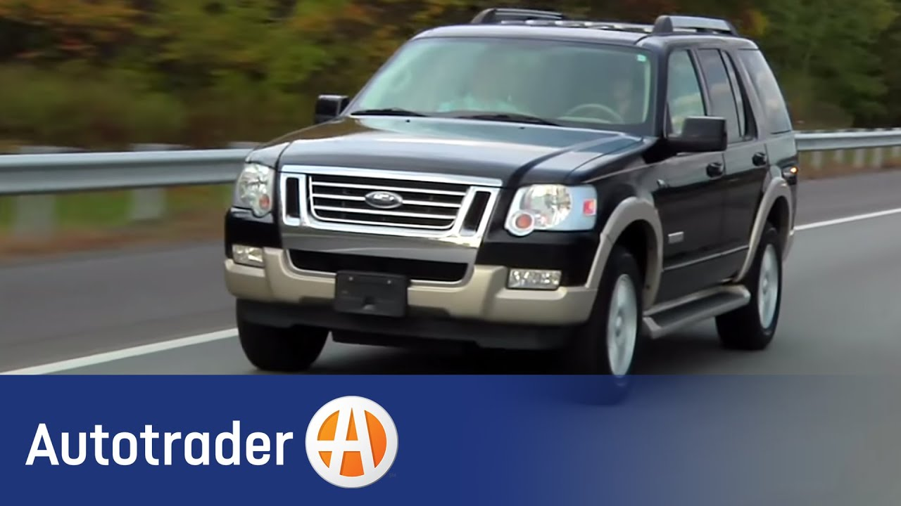 & 2006-2009 Ford Explorer - SUV | Used Car Review | AutoTrader - YouTube markmcfarlin.com