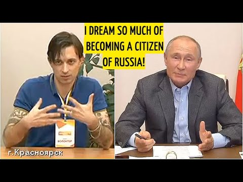 My Heart Belongs To Russia - Italian Asks Putin For The Russian Citizenship! Guess What Happened?