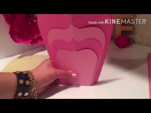 Moldes Gratis Para Flores De Papel Yuliana Segundo Video