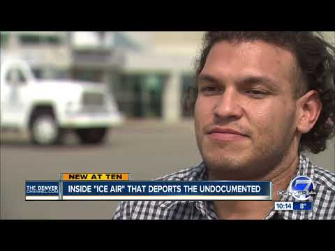 Many people deported from Denver this year by airplane after arrests by ICE