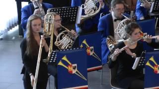 Gambar cover Guilmant: Morceau Symphonique , Jyväskylä wind band cond. by Rita Varonen  solo Emma Vasala