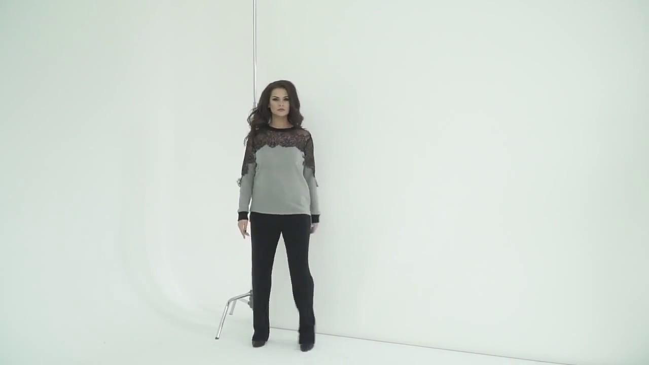 как удлинить платье кружевом - YouTube