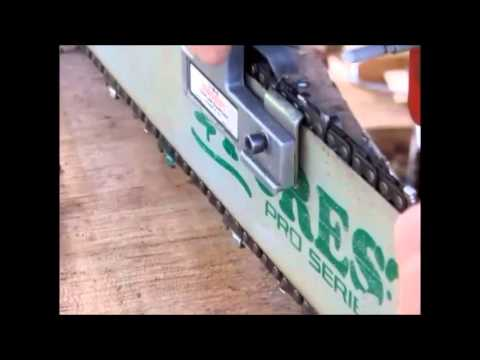 Granberg Ripping Chain Sharpening and Test Cuts