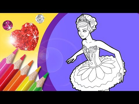 ballerina-coloring-book-pages-|-collage-and-glitter-coloring