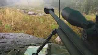 50 bmg at a mile in heavy rain