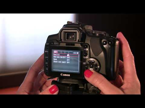 Overview Of Canon Digital Rebel XTi With 28-80 And 75-300 Lens