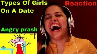 Types Of Girls On A Date Ft. Tinder || REACTION