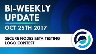 Horizen Bi-weekly Live Update - Oct 25th 2017