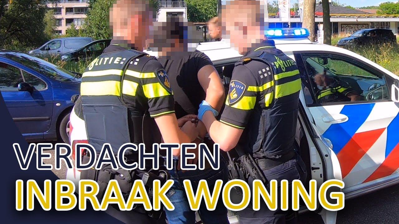 Verdachten inbraak aangehouden   Dienst met het team Lekpoort   Politie