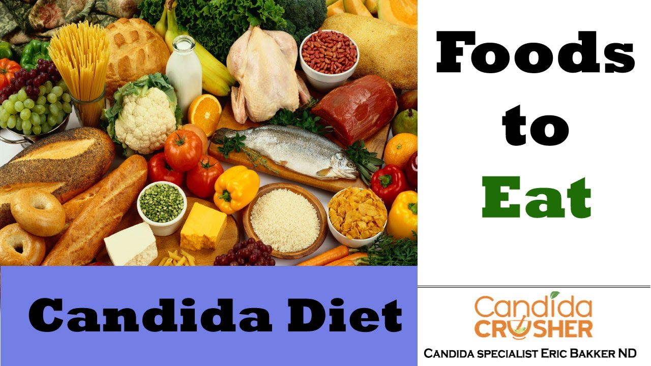 The Candida Crusher Diet - YeastInfection Org by Eric Bakker