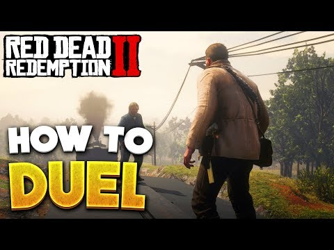 Red Dead Redemption 2 How To Duel & Use Dead Eye! RDR2 Gunslingers, Duels & Dead Eye