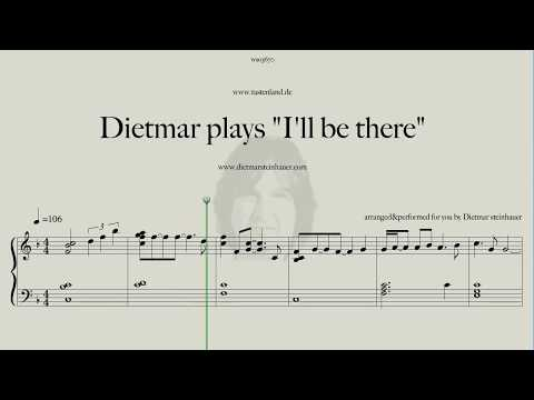 "Dietmar plays ""I'll be there""  - great Michael Jackson Song"