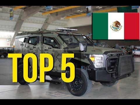 TOP 5 Veh�culos Militares hechos en M�xico | Ej�rcito Mexicano