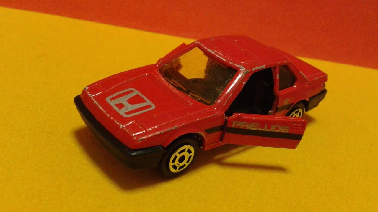 Honda Prelude Mk3 (1987) [Majorette 1/58]