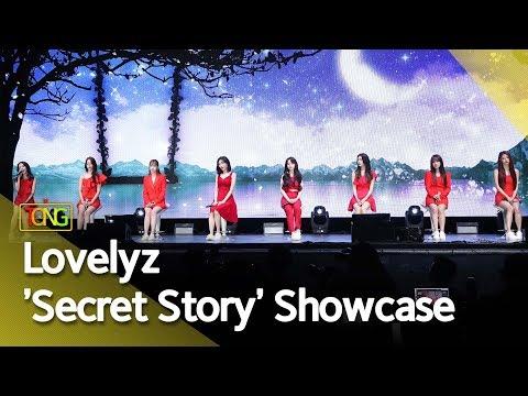 4K Lovelyz러블리즈 &39;Secret Story&39; Showcase stage 그 시절 우리가 사랑했던 우리 Beautiful Days 통통TV
