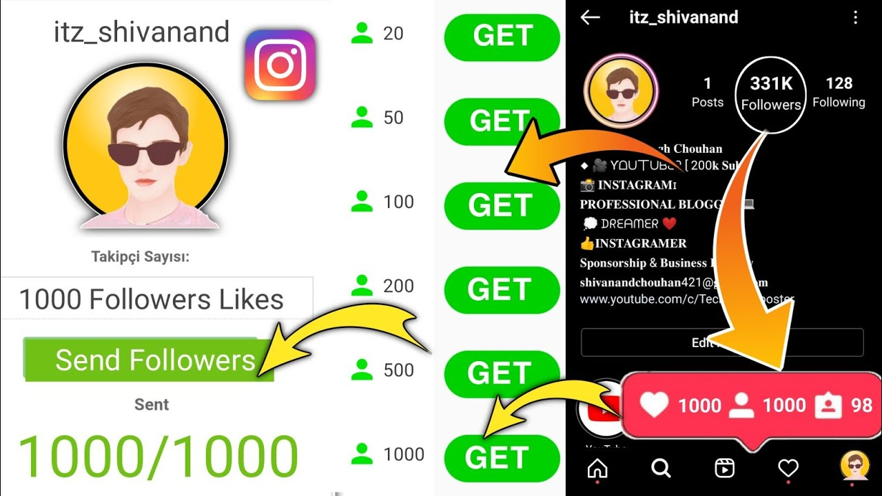 how to get free instagram followers 2021 | how to increase instagram followers and likes 2021