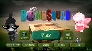 Funny online game (Bomb squad) angry pixel