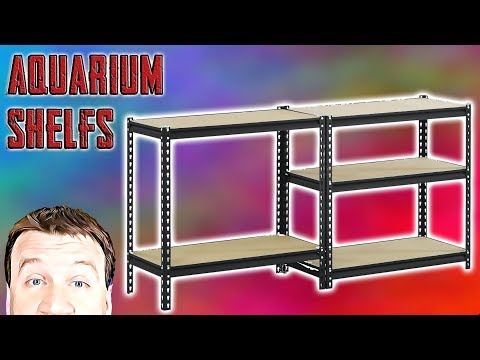 Metal Shelving - 40G Breeder Aquariums 3 Decker - Review