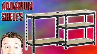 Metal Shelving - 40G Breeder Aquariums 3 Decker - Review