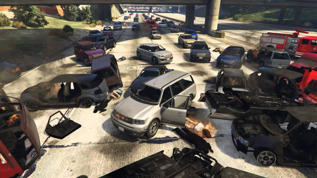 Car Accident Highway
