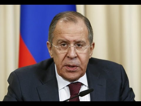 WATCH LIVE: Russian FM Sergey Lavrov holds news conference after meeting with President Trump