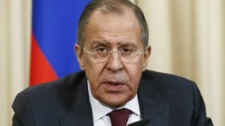 From youtube.com: Russian FM Sergey Lavrov {MID-163261}