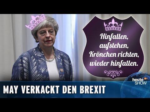 Der Brexit wird verschoben: Wann gehen die Briten endlich? | heute-show vom 22.03.2019