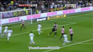 Real Madrid Vs Athletic Bilbao Goals + Full Highlights Week 12 Liga BBVA 2010-2011