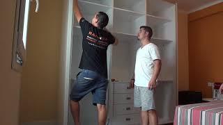 Gambar cover RANNDIA - Montaje de armario a medida - Como hacer (instalar) un armario que no es empotrado