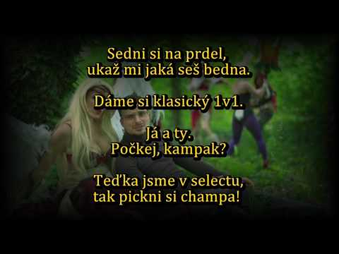 Gamer - Aik Murczechy [OFFICIAL LYRICS VIDEO]