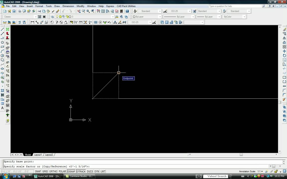 how to scale an object in autocad youtube rh youtube com autocad 2008 training manual pdf autocad 2008 training manual pdf