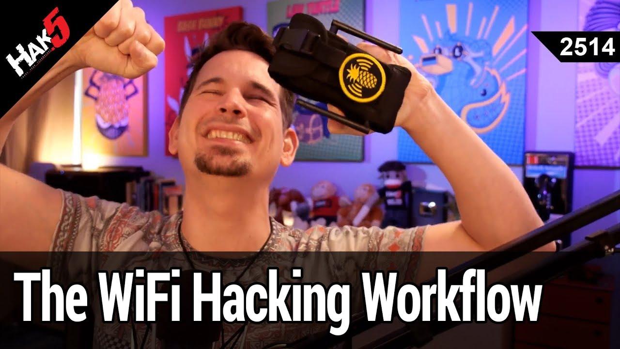 WiFi Hacking Workflow - The NEW WiFi Pineapple 2 5 Firmware - Hak5 2514