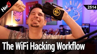 WiFi Hacking Workflow - The NEW WiFi Pineapple 2.5 Firmware - Hak5 2514