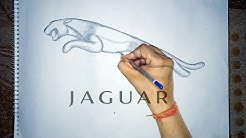 Jaguar Car logo | No Blending | Step by step | Sonu Bhati