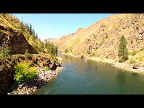 Salmon river-Vinegar creek rapids