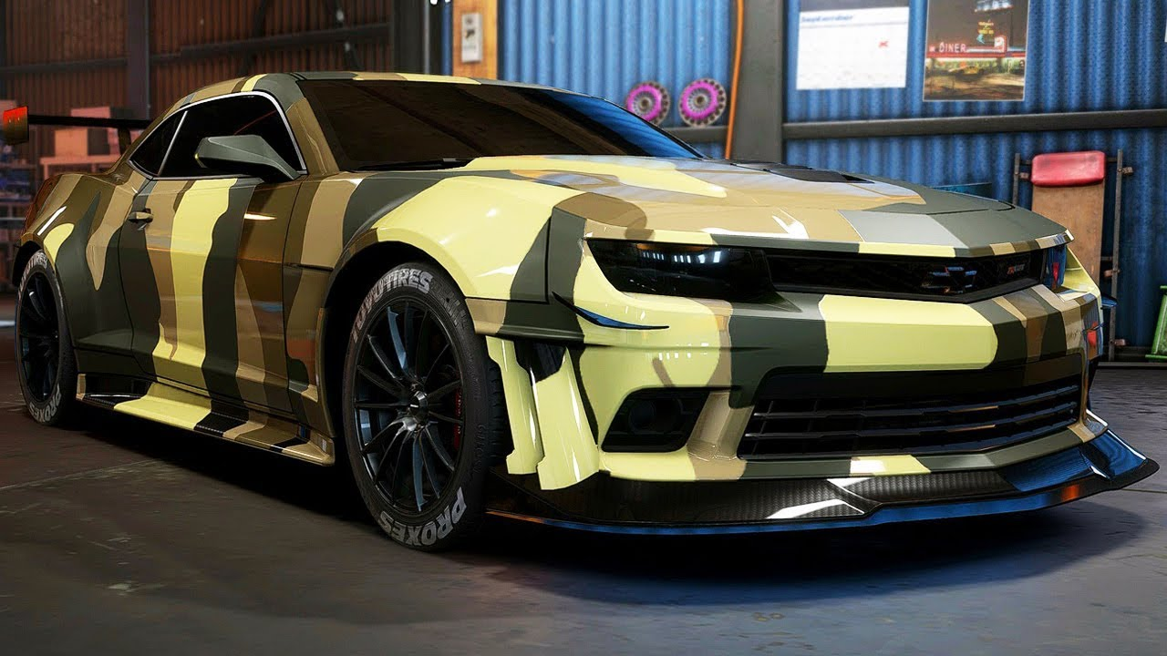 Build A Camaro >> Camaro Z28 Build Need For Speed Payback Part 35 Youtube