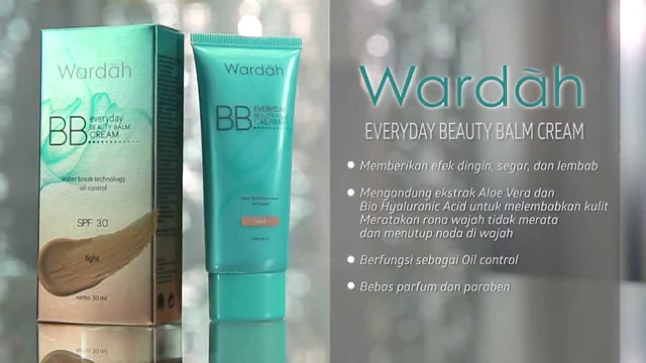 Wardah Tutorial: BB Cream Everyday - YouTube