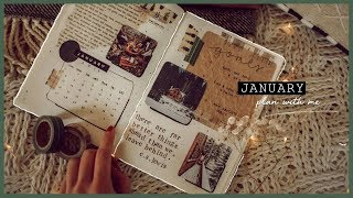 January Plan with me | Bullet Journal