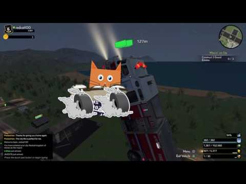 Flying firetruck simulator