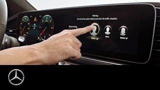 Mercedes-Benz GLE (2018): MBUX (Mercedes-Benz User Experience)