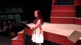"Pasek and Paul Composer Salon with Staged! Hannah Lauren Wilson singing ""Middle of a Moment"""