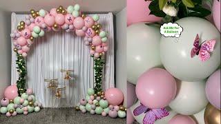 Pastel Balloon Arch Tutorial