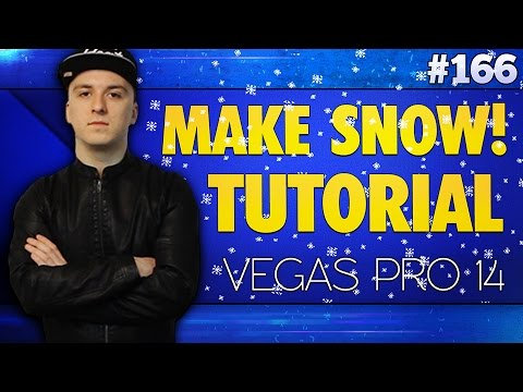 Vegas Pro 14: How To Make It Snow - Tutorial #166